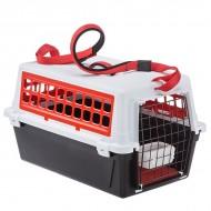 Cusca transport pentru caini, Ferplast, Atlas Trendy Plus 20, Rosie