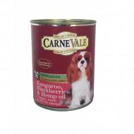 Hrana umeda pentru caini, Carnevale, Cangur, Mure, Ulei Canepa, 400 G