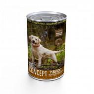 Hrana umeda pentru caini, Dog Concept, Pui si Ficat, 1240 G