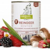 Hrana umeda pentru caini, Isegrim, Reindeer, 400 G