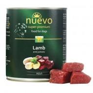 Hrana umeda pentru caini, Nuevo, Miel, conserva 800 g