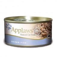 Hrana umeda pentru pisici, Applaws, Peste Oceanic, 70 g