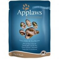 Hrana umeda pentru pisici, Applaws, Ton si Dorada ,12 x 70 g
