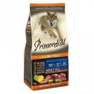 Hrana uscata pentru caini, Primordial, Grain-Free Adult Ton si Miel, 12kg
