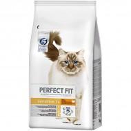 Hrana uscata pentru pisici, Perfect Fit, Adult Sensitive Curcan, 7 Kg
