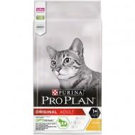 Hrana uscata pentru pisici, Pro Plan, Optirenal Adult cu Pui, 10 KG