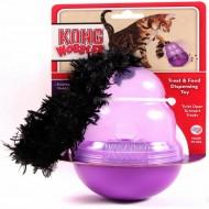 Jucarie pentru pisici, Kong, Biscuit Dispenser Wobbler