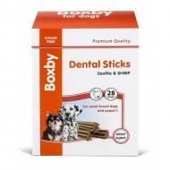 Recompense pentru caini, Boxby Puppy & Small Dog Dental, 320 G/28 BUC