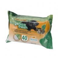 Servetele umede pentru caini, Ferplast, Genico Fresh Green Tea