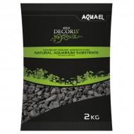 Substrat pentru acvariu, Aquael Nisip Basalt, 2-4 mm, 2 KG