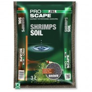 Substrat pentru acvariu, JBL ProScape ShrimpsSoil Brown 3l