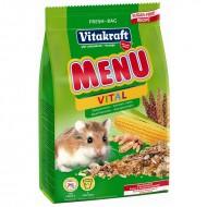 Hrana pentru rozatoare, Vitakraft Meniu Hamsteri Pitici, 400g