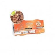 Hrana umeda caini, Platinum, Menu Mini Turkey & Salmon, 4 x 100 gr