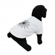 Haina pentru caine, Pet Expert, Spider Web White, L, 36 CM