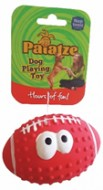 Jucarie pentru caini, Paiatze, Red Smile Face Latex, 0025/ 2374