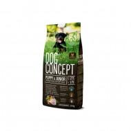 Hrana uscata pentru caini, Dog Concept, Puppy & Junior, 15 Kg