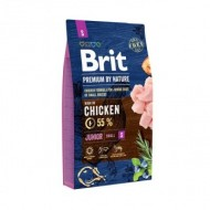 Hrana uscata pentru caini, Brit Premium by Nature, Junior S (Small), 8 Kg