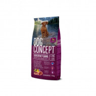 Hrana uscata pentru caini, Dog Concept, Adult Sensitive, 15 Kg