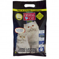 Asternut igienic pentru pisici, Crystal Cat, Tofu, 5 L