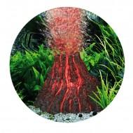 Decor pentru acvariu, Hydor, H2SHOW Kit Volcano - Red Light