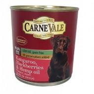 Hrana umeda pentru caini, Carnevale, Cangur, Mure, Ulei Canepa, 800 G