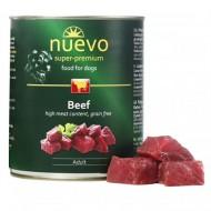 Hrana umeda pentru caini, Nuevo, Vita, conserva 800 g