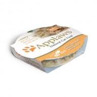 Hrana umeda pentru pisici, Applaws, Piept de Pui si Rata, 60 g