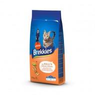 Hrana uscata pentru pisici Brekkies Excel Mix, Pui si Legume, 20 Kg