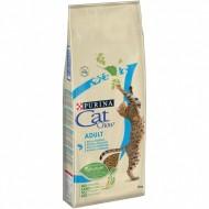 Hrana uscata pentru pisici, Cat Chow, Adult Ton si Somon, 15 Kg