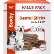 Recompense pentru caini, Boxby Valuepack Dental Sticks, 1200 G/60 BUC