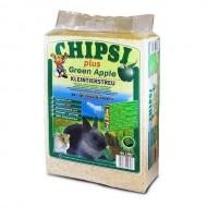 Rumeguş pentru rozătoare, Chipsi Green Apple, 60 L