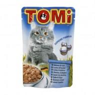 Hrana umeda pentru pisici, Tomi, Somon si Pastrav, plic 100 g