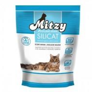 Nisip silicatic pentru pisici, Mitzy, Silicat, 3.8 L