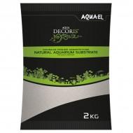 Substrat pentru acvariu, Aquael Nisip Quartz, 0.1-0.3 mm, 2 KG