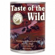 Hrana umeda pentru caini, Taste of the Wild, Southwest Canyon, 390 gr