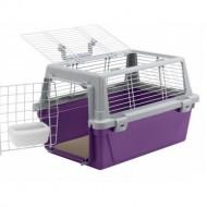 Cusca de transport pentru pisici, Ferplast, Atlas 10 Vision, 32,5 x 48 x 29 CM