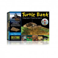 "Decor terariu, Exo Terra, Turtle Bank Small, 16.6 x 12.4 x 3.3 cm (6.54"" x 4.88"" x 1.3""), PT3800"