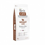 Hrana pentru caini Brit Care Weight Loss Rabbit Rice, 12 Kg