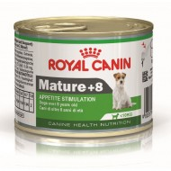 Hrana umeda caini, Royal Canin, Mini Mature+8 CAN, 195 G