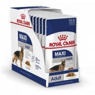Hrana umeda pentru caini, Royal Canin, Maxi Adult, Box 10 x 140 G