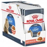 Hrana umeda pentru pisici, Royal Canin, Ultra Light in Gravy, 12 x 85 g
