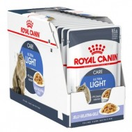 Hrana umeda pentru pisici, Royal Canin, Ultra Light in Jelly, 12 x 85 g