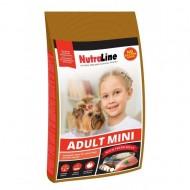Hrana uscata pentru caini, NutraLine, Mini Adult, 8 Kg