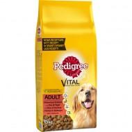Hrana uscata pentru caini, Pedigree, Adult Vita & Pasare, 15Kg