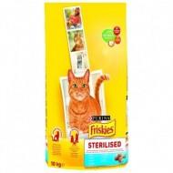Hrana uscata pentru pisici, Friskies, Sterilized, 10 kg