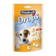 Recompensa pentru caini, Vitakraft, Drops Lapte, 200 G