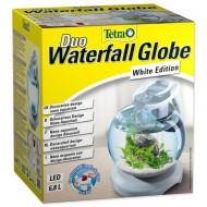 Acvariu bol, Tetra, Cascade Globe Duo Waterfall, 6.8 litri, alb