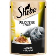Hrana umeda pentru pisici, Sheba, Pui in Aspic, 85 G