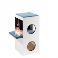 Ansamblu joaca pentru pisici, Ferplast, Blanco, 80 cm