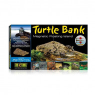 "Decor terariu, Exo Terra, Turtle Bank Large, 40.6 x 24.0 x 7.0 cm (15.98"" x 9.45"" x 2.76""), PT3802"